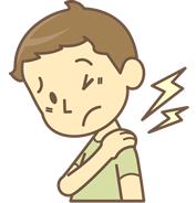 宇都宮市で寝違え・五十肩で悩む男性