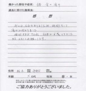 栃木県宇都宮市 40代 男性